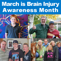 March is Brain Injury Awareness Month